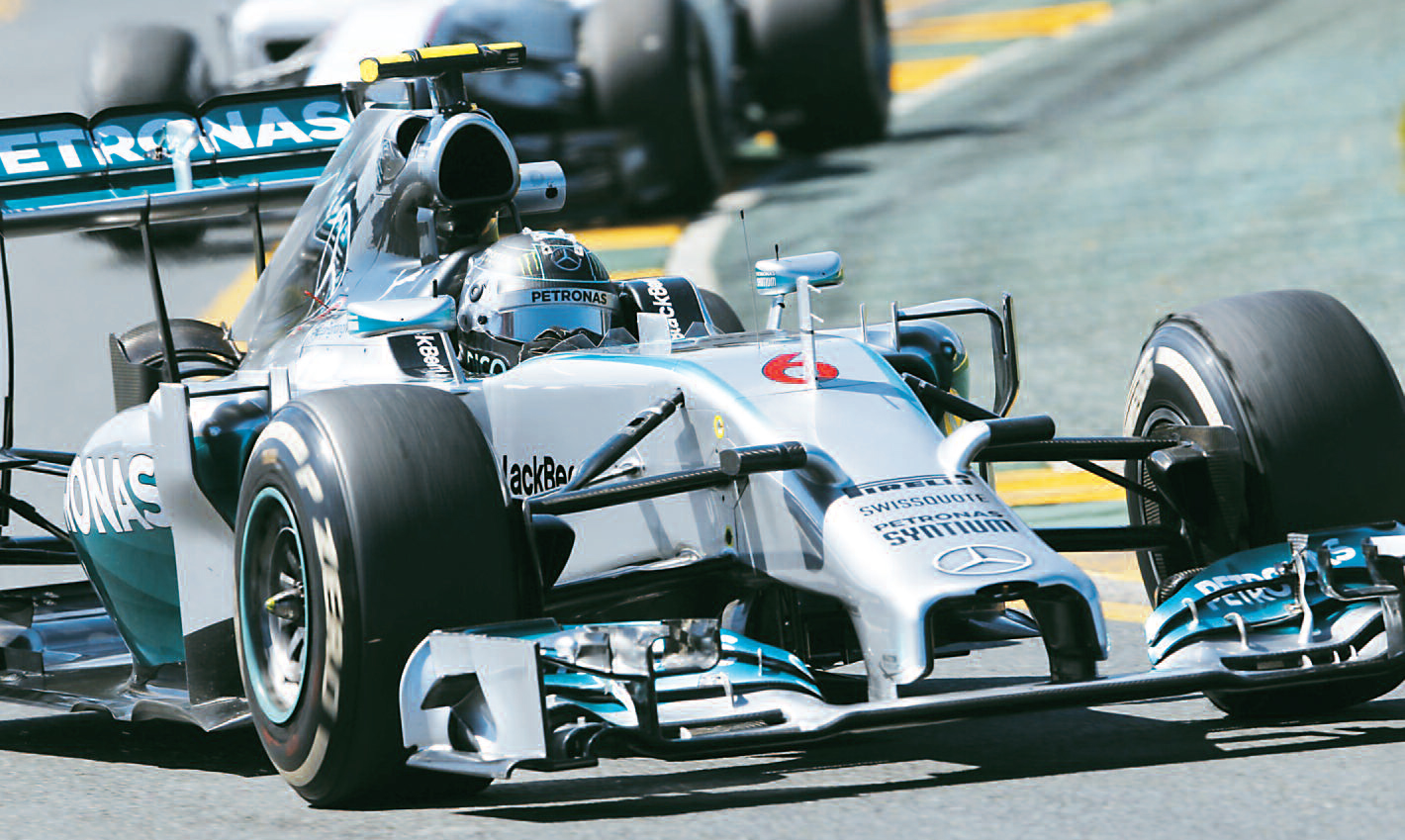 Taller actual los motores de formula 1 mercedes benz 1 for Mercedes benz formula 1